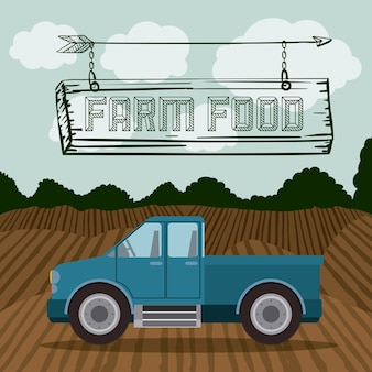Farm food digital design