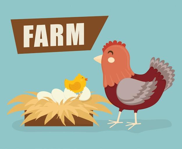 Farm fresh design.