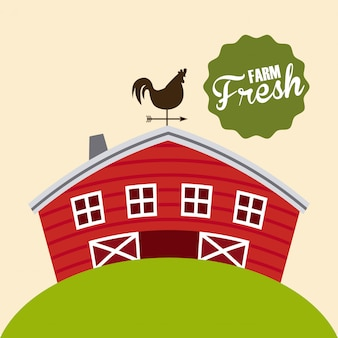 Farm fresh illustration