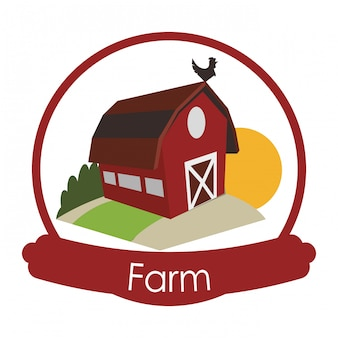 Farm icons design