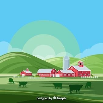 Ферма пейзаж