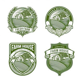 Farm logo collection