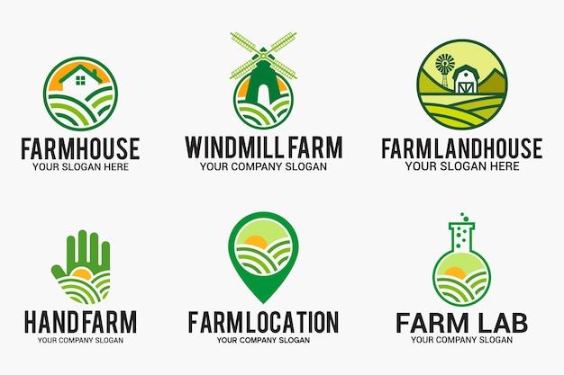 Дизайн логотипа фермы