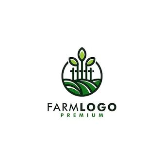 ファームロゴテンプレートデザインアイコンロゴタイプベクトル