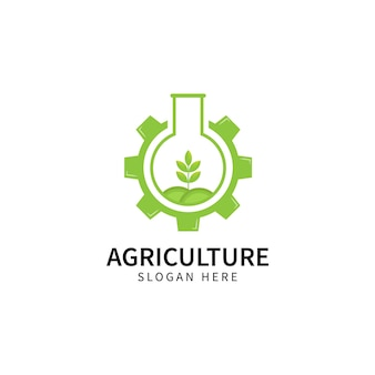 Farm logo template design