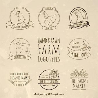Шаблоны фермы логотипы