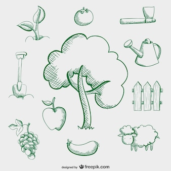 Farm semplici disegni