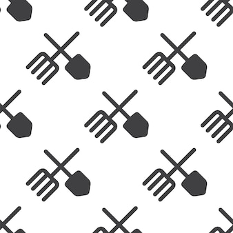 Farm, vector seamless pattern, editable can be used for web page backgrounds, pattern fills