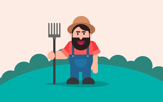 Farmer background