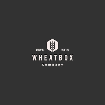 Farmer box wheat logo