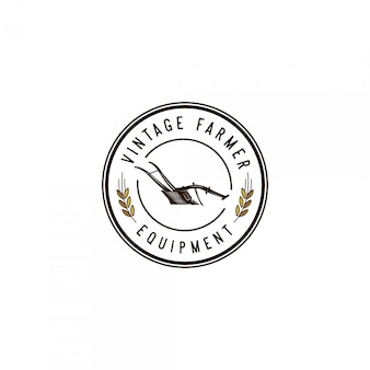 Farmer equipment vintage logo
