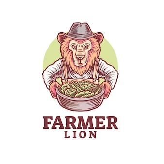 ファーマーライオンのロゴ