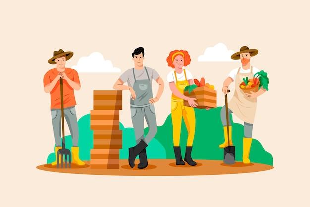 Set contadino