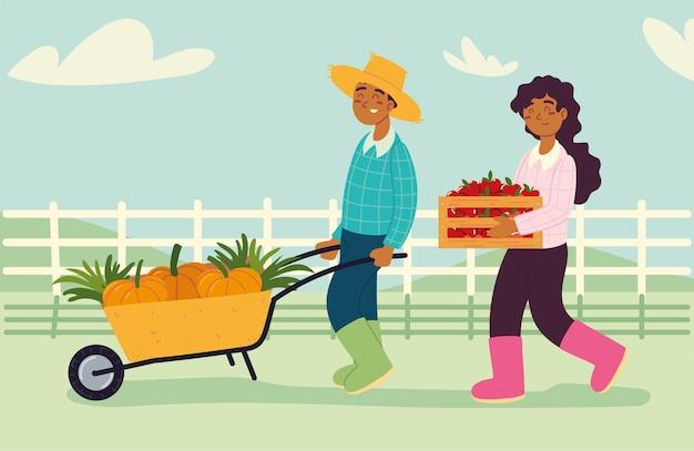 음식과 농민 노동자