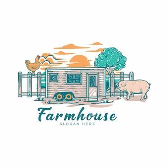 Логотип фермы