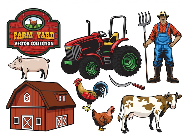 Farming yard collection