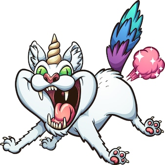 Farting caticorn