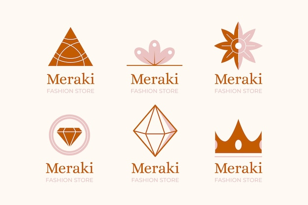 Fashion accessories logo collection