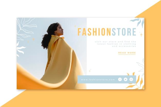 Fashion banner blog