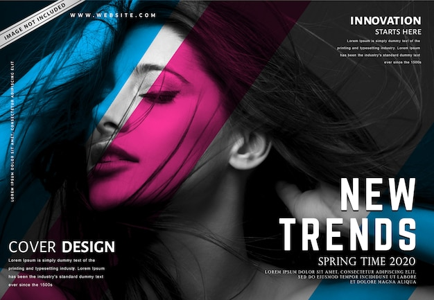 Fashion banner template