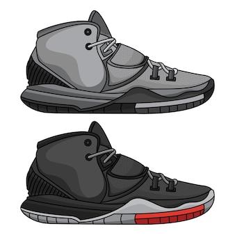 Модная баскетбольная обувь