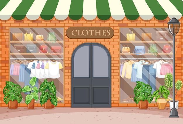 패션 의류 매장