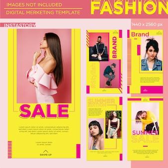 Fashion digital marketing template
