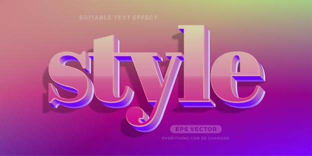 Fashion editable text