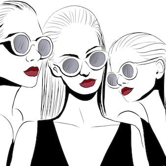 Модные лица в очках