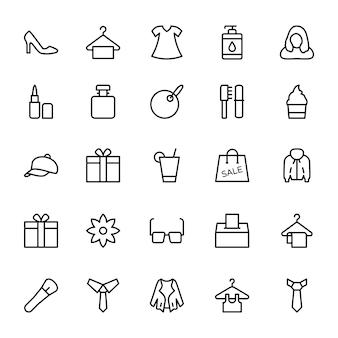 Fashion line иконки