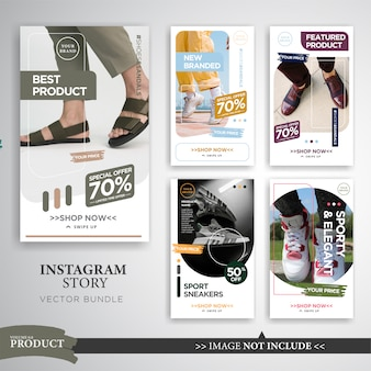 Fashion product sale instagram stories template