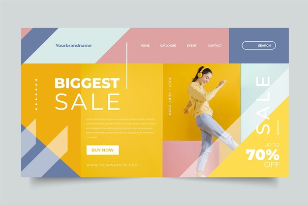 Fashion sale concept with offer