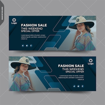 Fashion sale facebook дизайн поста обложки