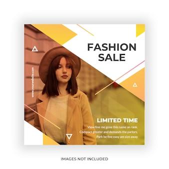 Fashion sale minimalist social media post
