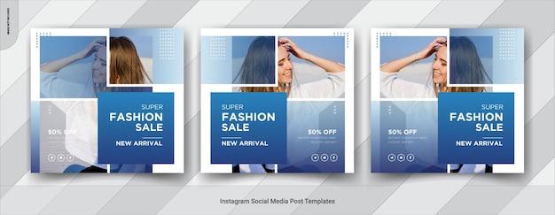 Fashion sale social media banners