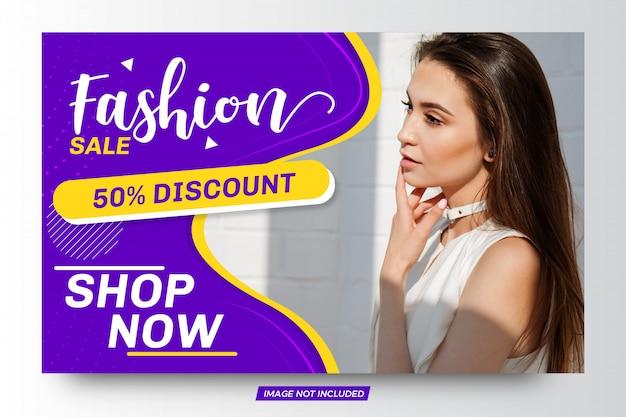 Fashion sale template