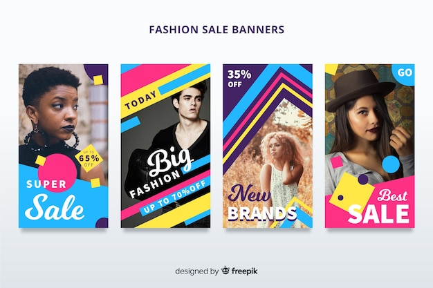 Fashion sales banner