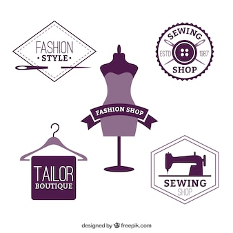 Fashion shop badges