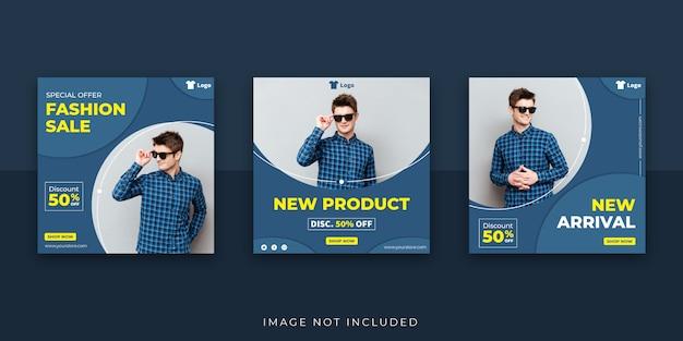 Fashion social media post banner sale