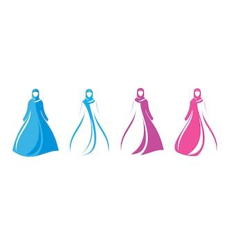 Fashion store logo design vector