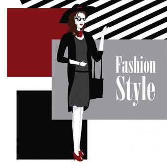 ファッションスタイルの幾何学的背景