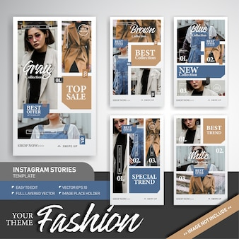 Fashion trend & sale instagram story template