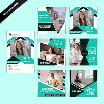 Fashion web баннер для социальных сетей