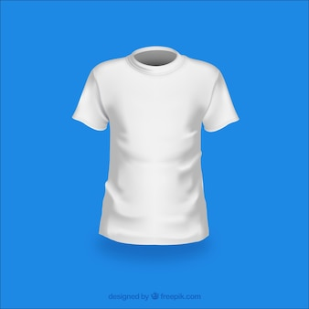 Fashion white t-shirt vector pack