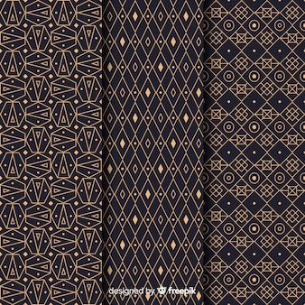 Fashionable luxury pattern collection