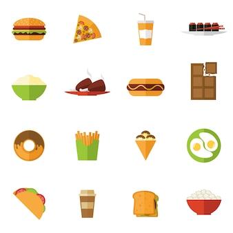 Набор иконок для быстрого питания