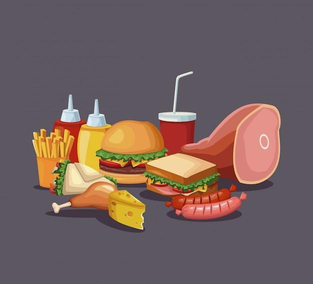 Значки быстрого питания