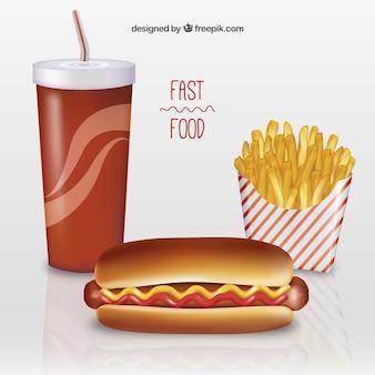 Menù fast food