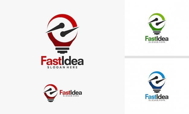 Fast idea logo designs