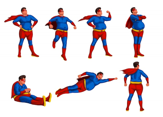 Fat hero set